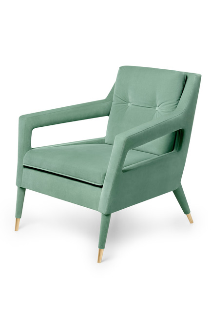 Press kit | 1834-04 - Press release | Downtown Design announces final exhibitor list and showcases new talent alongside established - Downtown Design - Event + Exhibition - Ginger &amp; Jagger<br>Chantal Armchair&nbsp; - Photo credit: Ginger &amp; Jagger