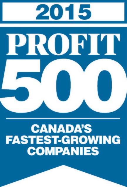 Press kit | 1152-04 - Press release | LumiGroup ranks No. 370 on the 2015 PROFIT 500 - LumiGroup - Competition - PROFIT 500 blue logo (english version) - Photo credit: PROFIT 500