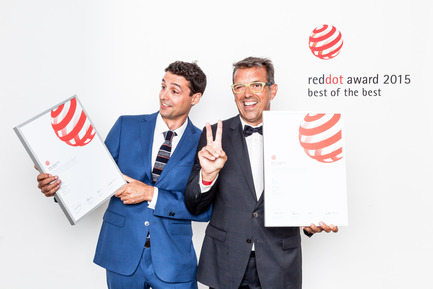 Press kit | 1734-01 - Press release | Calma becomes the first Spanish brand to win the Red Dot award: Best of the Best since 2011 - CALMA - Competition - Photo credit: Red Dot award