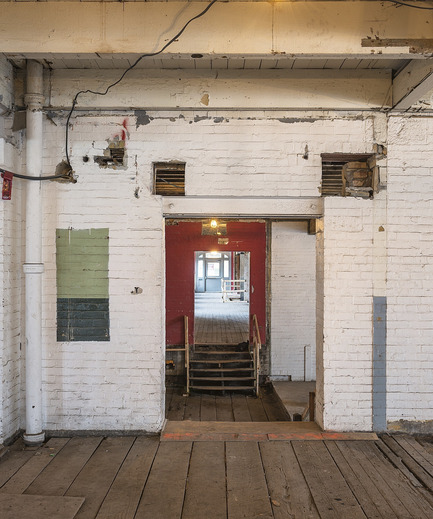 Press kit | 1858-01 - Press release | Quadrangle Architects win local and international awards for their innovative transformation of 60 Atlantic Avenue - Quadrangle Architects Ltd - Urban Design - 60 Atlantic - before - Photo credit: Bob Gundu