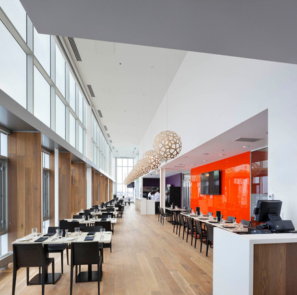 Press kit | 1866-01 - Press release | Durham College Centre for Food - Gow Hastings Architects - Institutional Architecture - Bistro B'67 Teaching Restaurant - Photo credit: Tom Arban
