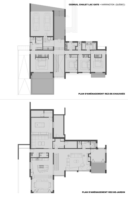 Press kit | 1678-01 - Press release | Résidence CEDRUS - BOOM TOWN - Residential Architecture - Floor plans - Photo credit: Boom Town