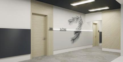 Dossier de presse | 1867-01 - Communiqué de presse | ARBORA prend racine dans Griffintown - LSR GesDev et Sotramont - Architecture résidentielle - Corridor 1 - Crédit photo : Hùma Design