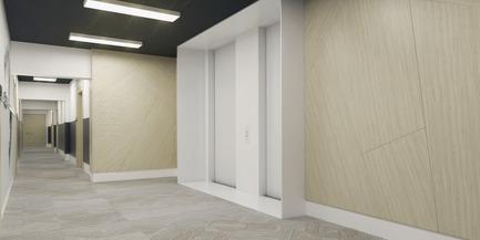 Dossier de presse | 1867-01 - Communiqué de presse | ARBORA prend racine dans Griffintown - LSR GesDev et Sotramont - Architecture résidentielle - Corridor 2 - Crédit photo : Hùma Design