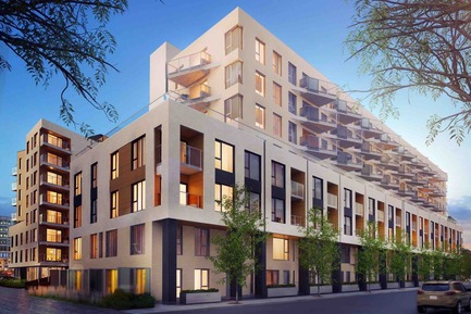 Press kit | 1867-01 - Press release | ARBORA prend racine dans Griffintown - LSR GesDev et Sotramont - Residential Architecture - Exterior view 2 - Photo credit: Lemay+CHA