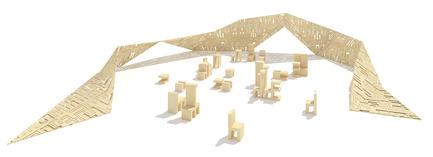 Press kit | 1834-05 - Press release | Introducing: Installations - Dubai Design Week - Event + Exhibition - Deconstructive living, Coletivo amor de madre. Alfahidi district
