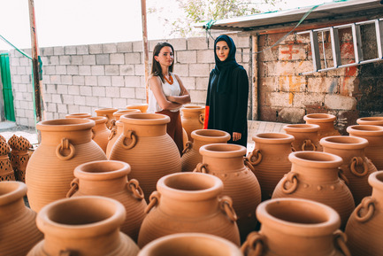 Press kit | 1834-05 - Press release | Introducing: Installations - Dubai Design Week - Event + Exhibition - Latifa Saeed & Talin Hazber