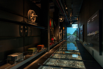 Press kit | 621-21 - Press release | Multisensory experience at the new Belgian railway museum Train World - Lightemotion - Lighting Design - Photo credit:  Marie-Francoise Plissart