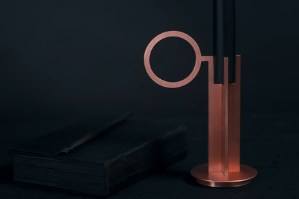 Press kit | 1097-04 - Press release | Launching Larose Guyon, object design studio - Larose Guyon - Product - Candlestick, Victor SImple - Photo credit: Larose Guyon
