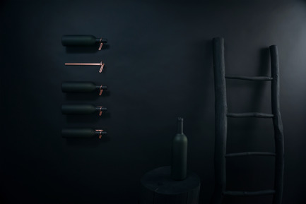 Press kit | 1097-04 - Press release | Launching Larose Guyon, object design studio - Larose Guyon - Product - Wine rack, Adèle Horizontal - Photo credit: Larose Guyon