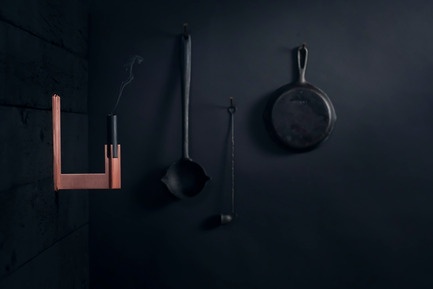 Press kit | 1097-04 - Press release | Launching Larose Guyon, object design studio - Larose Guyon - Product - CANDLESTICK, Victor Wall - Photo credit: Larose Guyon
