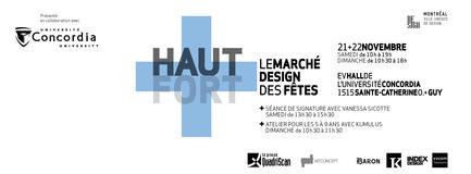 Press kit | 728-11 - Press release | Ho! Ho! Ho!This season give design - Design Haut+Fort - Event + Exhibition - HAUT+FORT, 2015 - Photo credit: HAUT+FORT, 2015