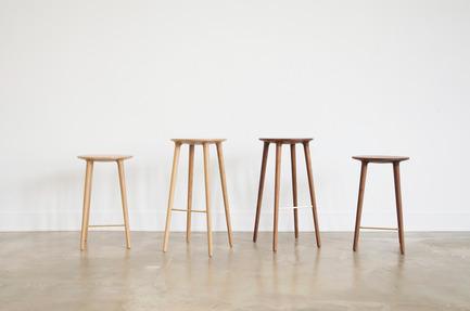 Press kit | 1077-03 - Press release | The C401 stoolA strong formal presence - Kastella - Industrial Design -  C401 family<br>  - Photo credit:   Kastella