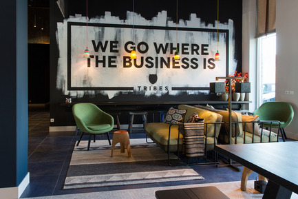 Press kit | 1177-02 - Press release | Tribes inspiring workplaces - Ceramiche Refin S.p.A. - Commercial Interior Design - Tribes - We Go Where The Business Is - Photo credit: Rika Looij