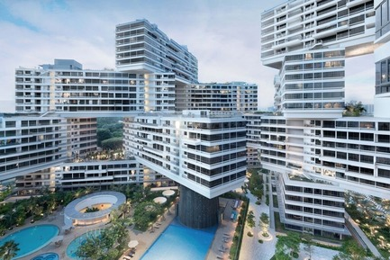 Dossier de presse | 661-31 - Communiqué de presse | The Interlace in Singapore: World Building of the Year 2015 - World Architecture Festival (WAF) - Concours - The Interlace, Singapore, by OMA/Buro Ole Scheeren. The residential development named World Building of the Year 2015 at the World Architecture Festival - Crédit photo : OMA/Buro Ole Scheeren