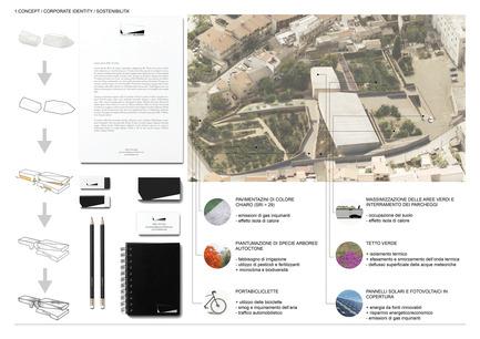 Press kit | 1957-01 - Press release | New Civic Centre in Villacidro - 3TI PROGETTI - Competition - Brand identity<br> - Photo credit: 3TI PROGETTI + 3TI_LAB