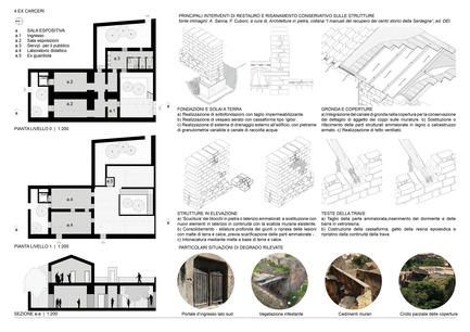 Press kit | 1957-01 - Press release | New Civic Centre in Villacidro - 3TI PROGETTI - Competition - Diagram - Photo credit: 3TI PROGETTI + 3TI_LAB