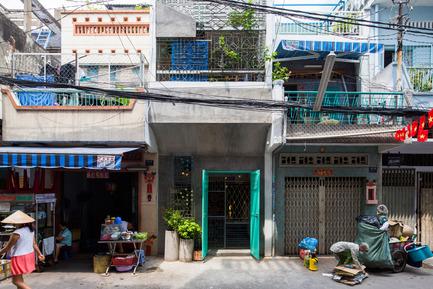 Press kit | 1256-01 - Press release | Saigon house - a21studĩo - Residential Architecture - Exterior  - Photo credit: Quang Tran