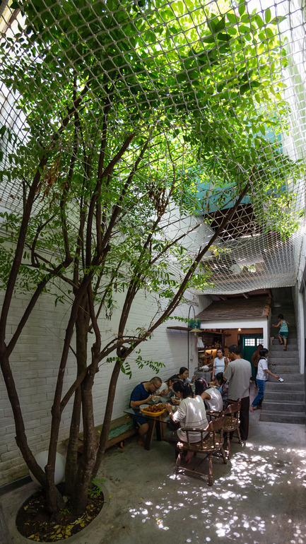 Dossier de presse | 1256-01 - Communiqué de presse | Saigon house - a21studĩo - Residential Architecture - A holiday meal of the family  - Crédit photo : Quang Tran