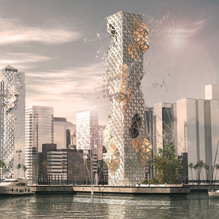 Press kit | 1127-08 - Press release | Call for entries: 2016 Skyscraper Competition - eVolo Magazine - Competition - A Thousand Splendid Suns (submission 2015 competition) - Photo credit: Bart Chompff, James Park (Austria)