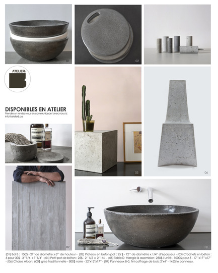 Press kit | 1556-01 - Press release | Mastering the delicate art of rough materials - AtelierB - Product - Photo credit: AtelierB