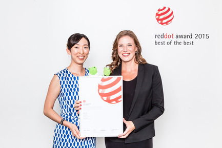 "Press kit | 1696-02 - Press release | Regular registration phase for the Red Dot Award: Product Design2016 starts – first jurors confirmed - Red Dot Award - Competition - In 2015, Sony Mobile Communications got a Red Dot: Best of the Best for the smartphone ""Xperia E3"". - Photo credit: Red Dot"