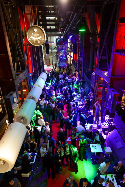 "Press kit | 1696-02 - Press release | Regular registration phase for the Red Dot Award: Product Design2016 starts – first jurors confirmed - Red Dot Award - Competition - Aftershow party ""Designers' Night"" at the Red Dot Design Museum. - Photo credit: Red Dot"