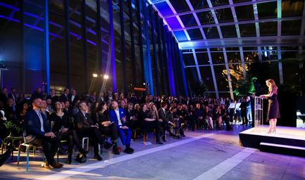 Press kit | 1124-07 - Press release | Winners Announced - World Interiors News - Commercial Interior Design - World Interiors News Awards Ceremony 2015 - Photo credit: Matt Chung / MattChungPhoto.com