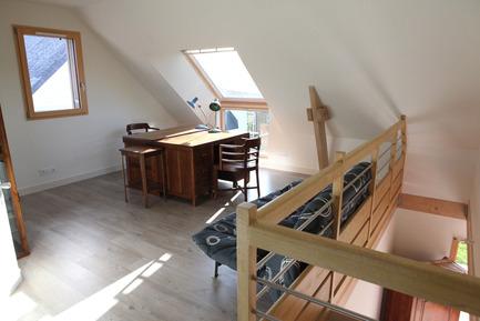 Press kit | 949-05 - Press release | Une maison RT 2012 près de Sainte-Anne-d'Auray en Bretagne - Patrice Bideau - Architecture résidentielle - Photo credit: Armel ISTIN