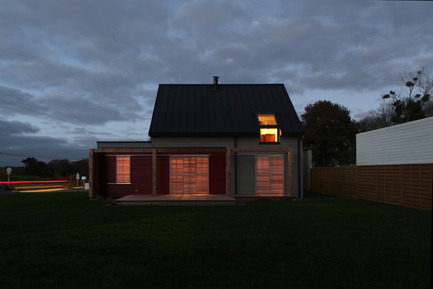 Press kit | 949-05 - Press release | House Built To French 2012 Energy Regulations Near Sainte-Anne-d'Auray - Patrice Bideau - Residential Architecture - Photo credit: Armel ISTIN