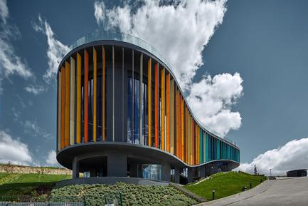 Press kit | 1980-01 - Press release | Yazgan Design wins the 'Innovative Use of Color Award' at WAF 2015 - Yazgan Design Architecture - Competition - Daytime exteriorview - Photo credit:  Yunus Özkazanç