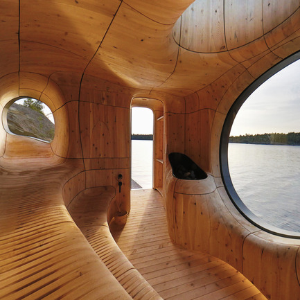 Dossier de presse | 902-05 - Communiqué de presse | World Design Rankings - A' Design Award and Competition - Event + Exhibition - Grotto Sauna Freestanding Residential Sauna by PARTISANS - Crédit photo : Photographer Jonathan Friedman, Grotto Sauna
