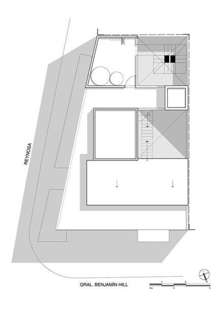 Dossier de presse | 1825-01 - Communiqué de presse | Just Be Apartments - Arqmov Workshop - Residential Architecture - Site Plan - Crédit photo : arqmov workshop