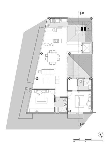 Dossier de presse | 1825-01 - Communiqué de presse | Just Be Apartments - Arqmov Workshop - Residential Architecture - Architectural Layout - Crédit photo : arqmov workshop