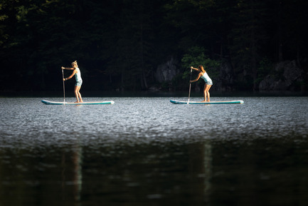 Press kit | 1857-01 - Press release | SipaBoards Bring Fresh Air To Paddleboarding - SipaBoards - Product - Paddle boarding in the Alps - Photo credit:   Uros Podlogar