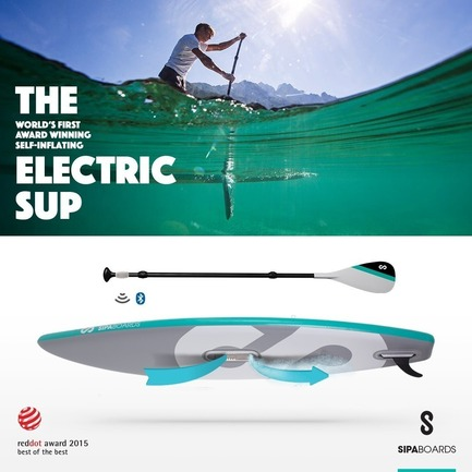 Press kit | 1857-01 - Press release | SipaBoards Bring Fresh Air To Paddleboarding - SipaBoards - Product - Cruiser - Photo credit: SipaBoards