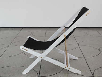 Press kit | 1604-04 - Press release | Design Days Dubai Announces 2016 Edition - Design Days Dubai - Event + Exhibition - CampDesignGallery_Adaptations Deckchair by Veronica Todisco - Photo credit:  Jeremias Morandell