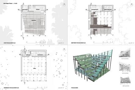Press kit | 1102-02 - Press release | Maison Lac Jasper - Architecturama - Architecture résidentielle - Maison Lac Jasper - Photo credit: ARCHITECTURAMA