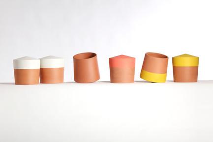 Press kit | 2019-01 - Press release | Voltasol, the rolling flowerpot - Studio BAG Disseny - Product - Voltasol colors, small size.<br> - Photo credit: Jordi Roca<br>