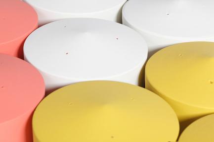 Press kit | 2019-01 - Press release | Voltasol, the rolling flowerpot - Studio BAG Disseny - Product - Voltasol bases.<br> - Photo credit: Jordi Roca<br>