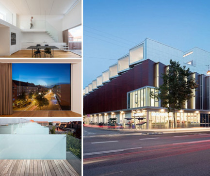 Press kit | 2013-01 - Press release | Winner & Shortlisted announcement for WAN Residential, Mixed Use, Adaptive Reuse Award 2015 - World Architecture News Awards (WAN AWARDS) - Residential Architecture - Mixed Use: Sundbyoster Hall II by Dorte Mandrup Arkitekter  - Photo credit: © Adam Mork <br>