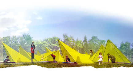Press kit | 837-15 - Press release | The International Garden Festival announces the designers for its 17th edition - International Garden Festival / Reford Gardens - Landscape Architecture -  TiiLT by SRCW [Sean Radford, architect, Chris Wiebe, designer]<br>Winnipeg (Manitoba) Canada  - Photo credit:  SRCW