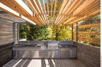 Press kit | 673-14 - Press release | Grands Prix du Design Award 9thedition. And the winners are... - Agence PID - Competition - Prix terrasse résidentielle<br>Terrasse-D-L<br>Martine Brisson designer d'intérieur - Photo credit: Marc Cramer