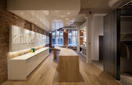 Press kit | 673-14 - Press release | Les lauréats de la 9e édition des Grands Prix du Design sont… - Agence PID - Concours - Prix salle d'exposition<br>Salle d'expositionArtopex à Québec<br>Lemay - Photo credit: Claude Simon Langlois