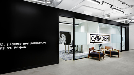 Press kit | 673-14 - Press release | Grands Prix du Design Award 9thedition. And the winners are... - Agence PID - Competition - Prix bureau de 5 000 à 20 000 pi² <br>Camden<br>Inside Studio - Photo credit: S BRUGGER