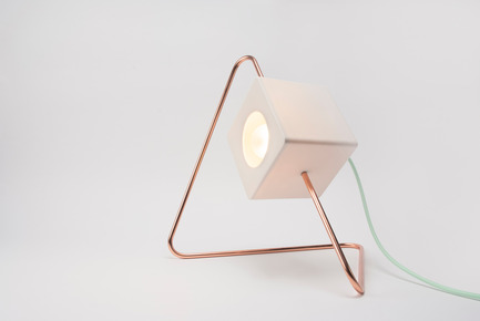 Press kit | 673-14 - Press release | Grands Prix du Design Award 9thedition. And the winners are... - Agence PID - Competition - Prix appareil d'éclairage<br>Focal Point Lamp<br>Designlump - Photo credit: &nbsp;Julie Langenegger Lachance
