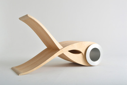Press kit | 673-14 - Press release | Grands Prix du Design Award 9thedition. And the winners are... - Agence PID - Competition - Prix valorisation du bois dans un design de produit<br>EXOCET<br>DESIGNARIUM - Photo credit: LEATHEAD