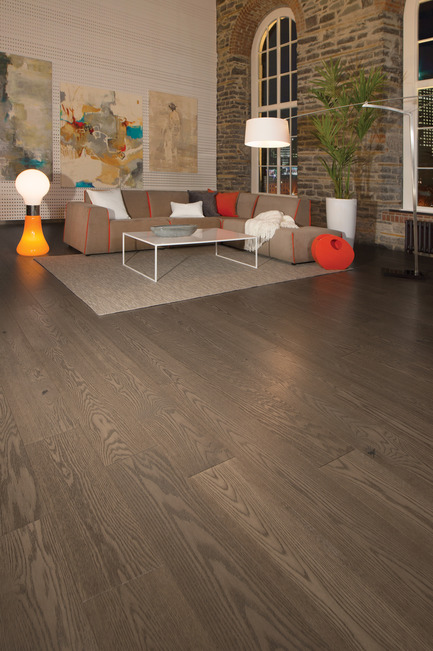 Press kit | 1639-03 - Press release | New Mirage Floors 2016— more magnificent than ever! - Mirage Hardwood Floors - Product - Handcrafted Red Oak, Tree House - SweetMemories Collection  - Photo credit:  Mirage Hardwood Floors