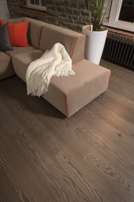 Press kit | 1639-03 - Press release | New Mirage Floors 2016— more magnificent than ever! - Mirage Hardwood Floors - Product -  Handcrafted Red Oak, Tree House - Sweet Memories Collection  - Photo credit: Mirage Hardwood Floors<br>