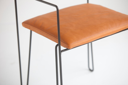 Press kit | 1165-02 - Press release | World premiere for a new Swedish furniture company - Steel by Göhlin - Steel by Göhlin - Product - Chair No1 - Photo credit: Steel by Göhlin